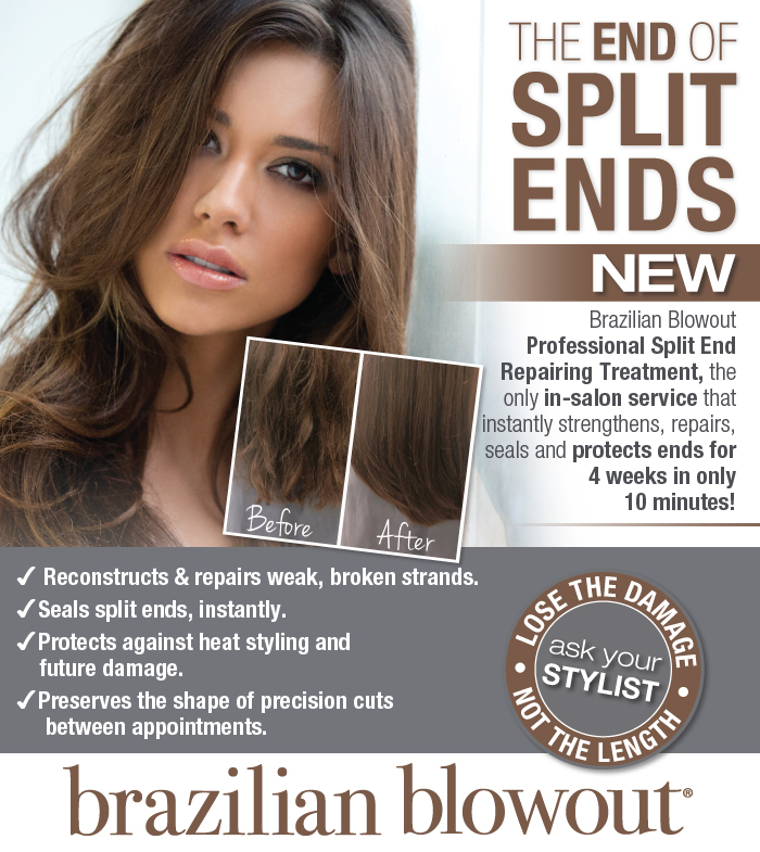 Brazilian Blowout repairing treatment